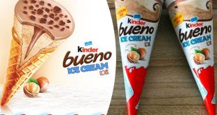 Kinder Bueno chocolate ice-cream ferrero