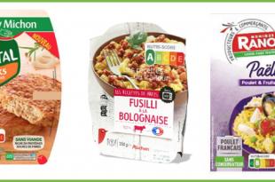 Nutri-Score Fleury Michon Auchan Intermarche