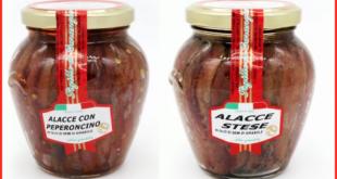 alacce in olio di semi di girasole capricci di franciacorta vasetti