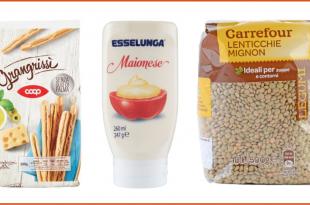 grissini coop maionese esselunga lenticchie carrefour private label prodotti