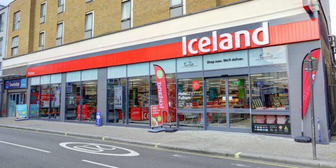 Iceland supermercato surgelati
