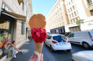 gelato frutta dolci