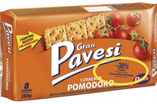 gran pavesi cracker pomodoro grassi