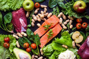 paleo dieta salmone carne verdura arachidi