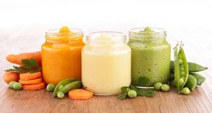baby food omogeneizzati alimenti per bambini carote piselli