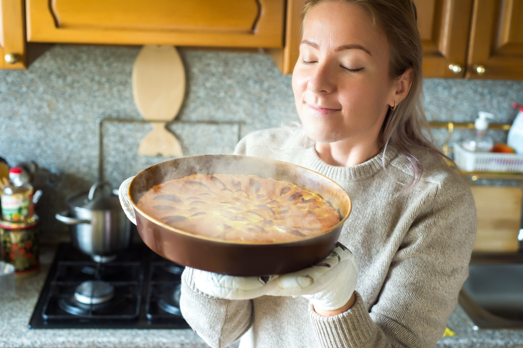 cucinare torta cucina profumo odore aromi dolci