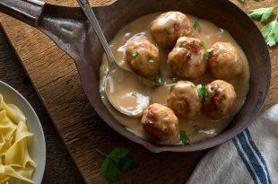 Swedish Meatballs polpette svedesi
