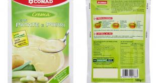 Conad Crema di patate e porri
