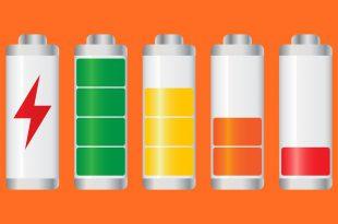 batteria smartphone etichetta nutrizionale
