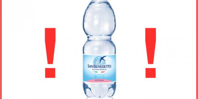acqua san benedetto richiamo