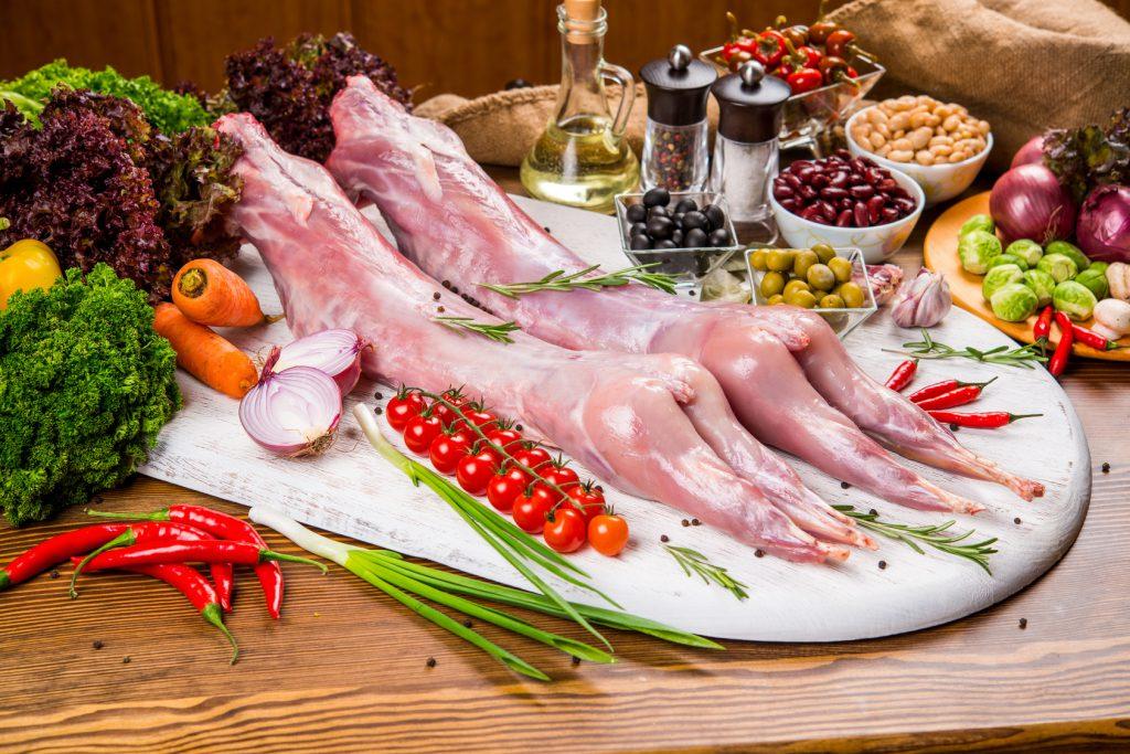 carne di coniglio