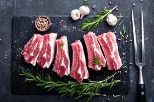 carne di maiale cruda