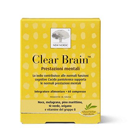 clear brain integratore alimentare