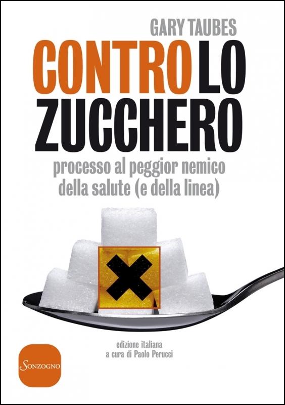 contro lo zucchero copertina libro
