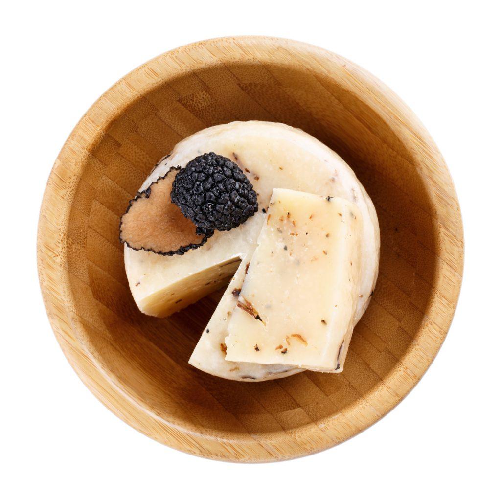 formaggio tartufo Listeria