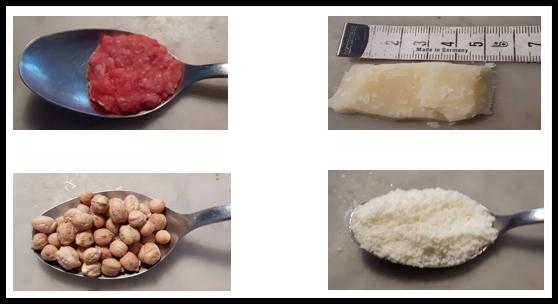 porzioni proteine neonati bambini
