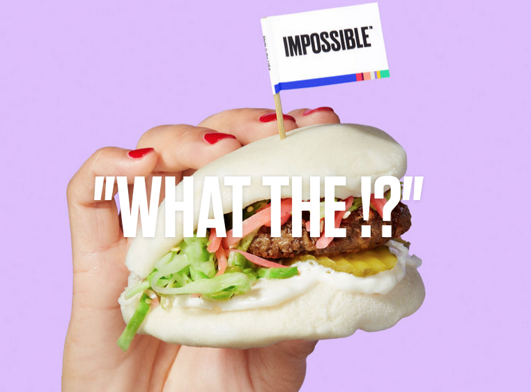 Impossible food hamburger