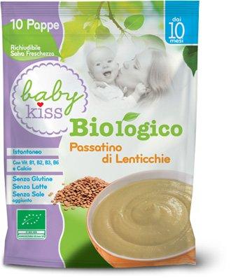 baby kiss passatino lenticchie