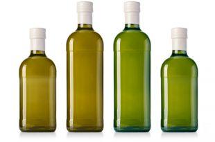 bottiglie olio di oliva extravergine vetro