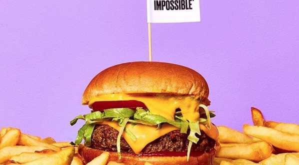 hamburger patatine impossible food