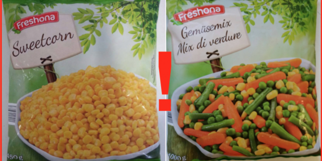 mais mix verdure surgelati freshona listeria richiamo