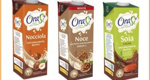 orasi bevande vegetali nocciola noce soia-cacao richiamo