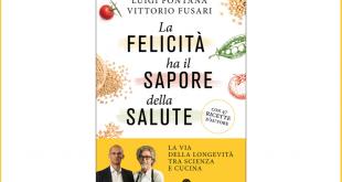 copertina libro longevita dieta sapore salute fontana