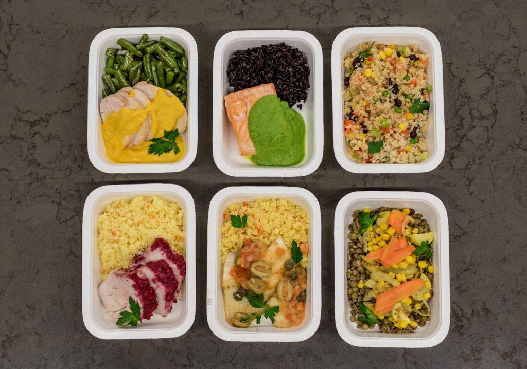 piatti pronti fast food plastica cibo pronto