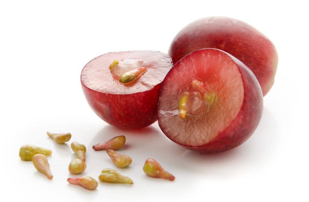 uva frutta semi