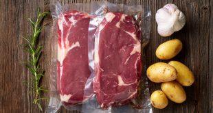 carne bistecche plastica conservare