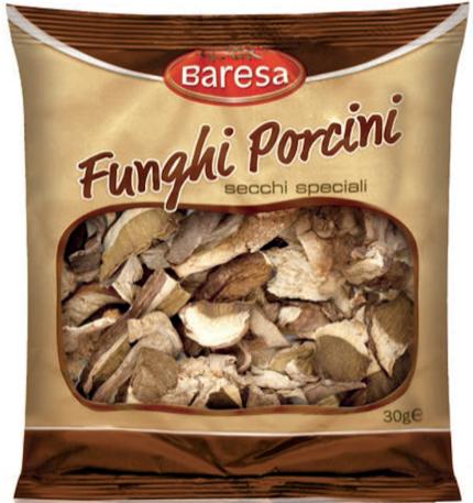 Funghi sconosciuti: ritirati i porcini secchi Baresa venduti da Lidl