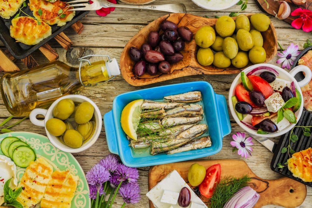 pesce antipasto dieta mediterranea