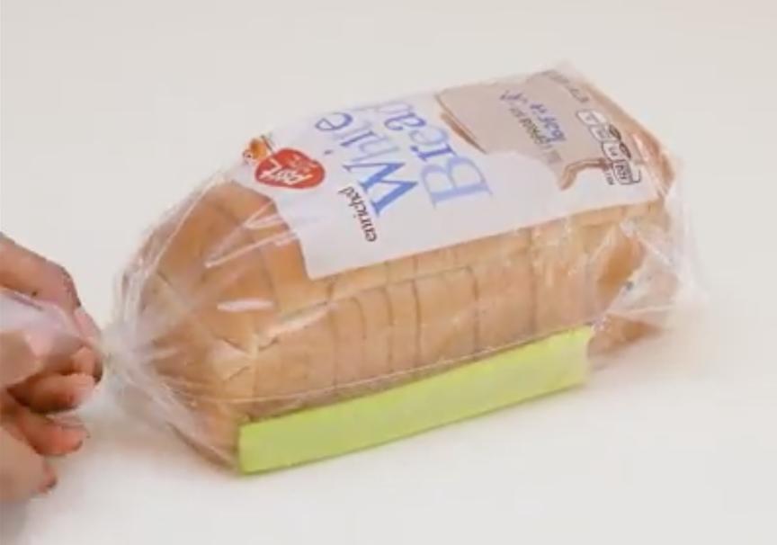 video conservazione pane sedano sacchetto
