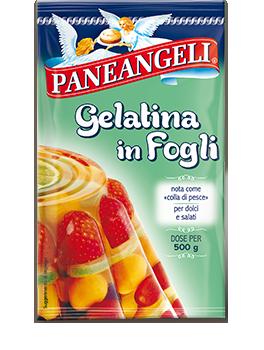 paneangeli cameo gelatina fogli