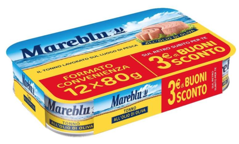 Tonno Mareblù ritirato dai supermercati: