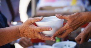 donazione di cibo