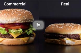 pubblicita hamburger