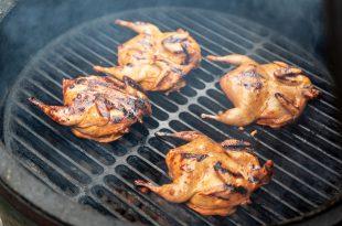 quaglie carne barbecue griglia