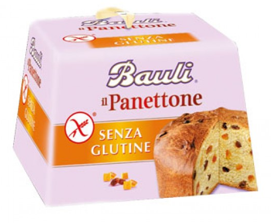 Panettone Bauli senza glutine