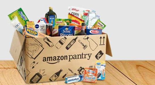 amazon pantry scatola prodotti
