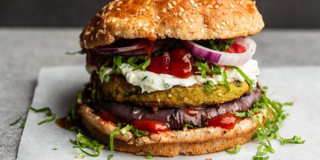 burger veg vegatarian vegan