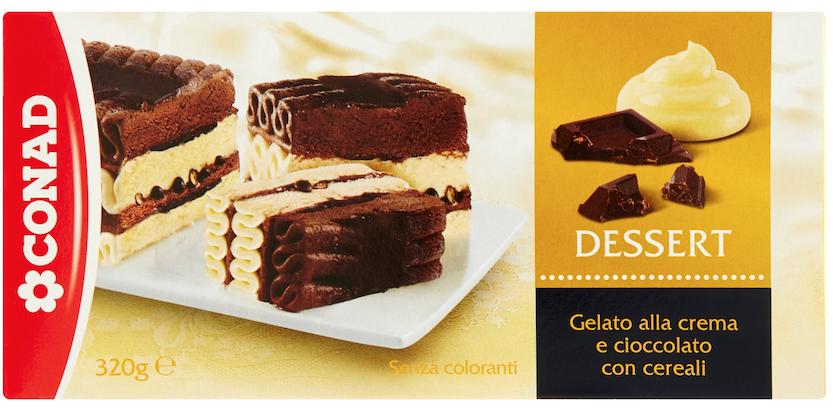 conad dessert crema cioccolato richiamo