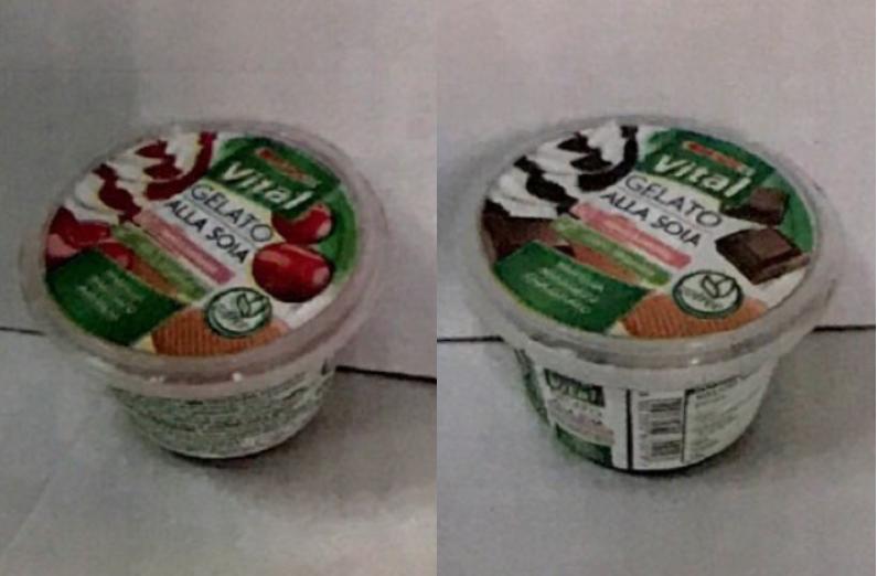 despar gelato soia amarena cioccolato