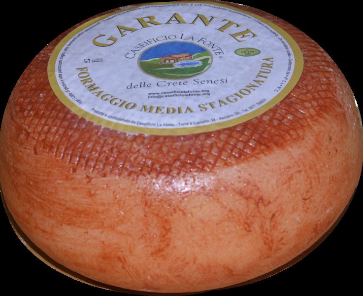 formaggio pecorino semistagionato garante