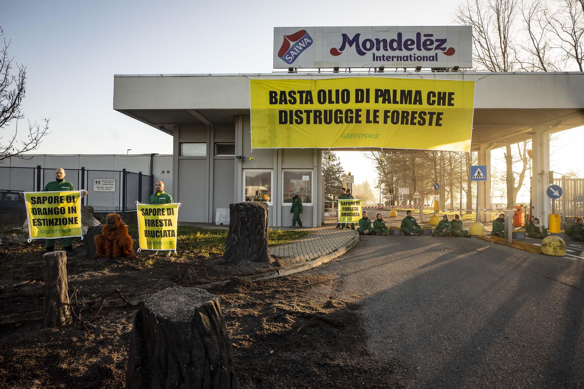greenpeace mondelez olio di palma deforestazione 2