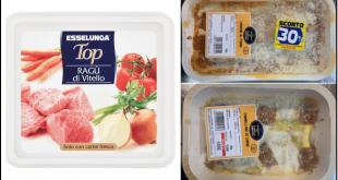 esselunga ragu vitello lasagne cannelloni richiamo