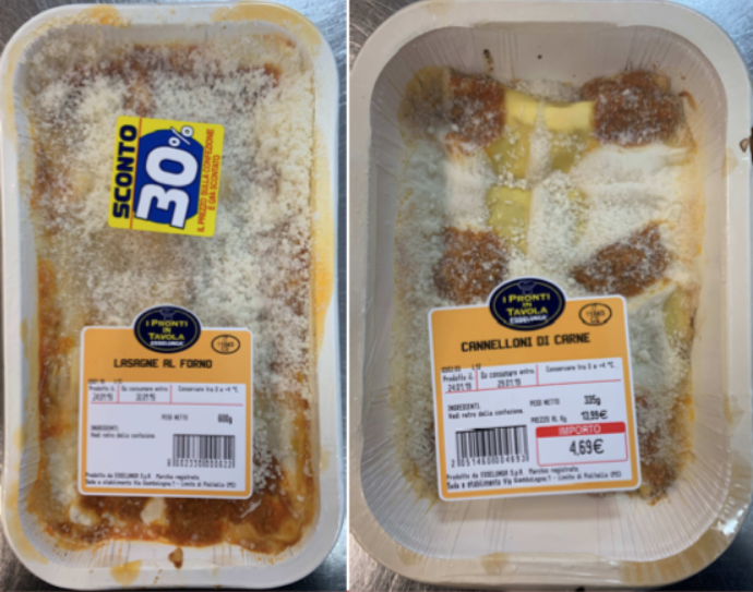 lasagne forno cannelloni carne esselunga