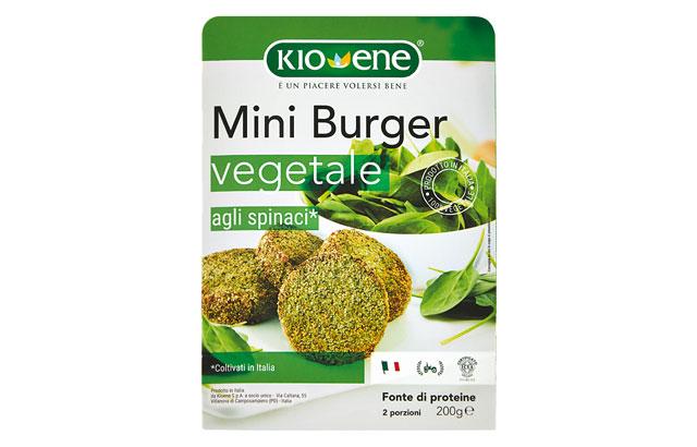 miniburger spinaci kioene