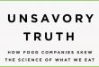 unsavory truth marion nestle dettaglio copertina