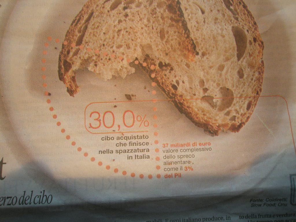 Spreco alimentare la repubblica 25 ottobre 2010